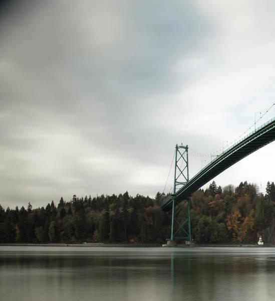 Photograph - Lions Gate Bridge Vancouver by Juan Contreras