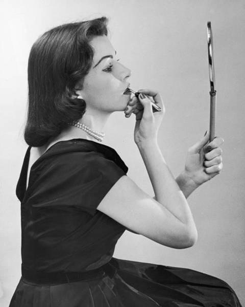 Formalwear Photograph - Lipstick Lady by A E French