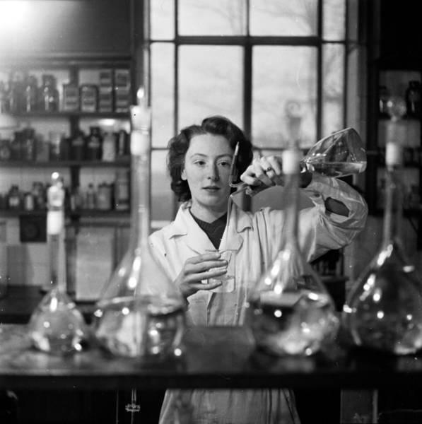 Technician Photograph - Liquid Measure by Charles Hewitt