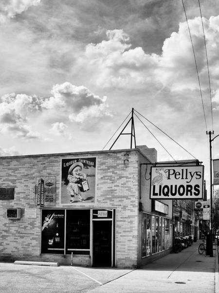 Wall Art - Photograph - Liquor First The Liquor Store by William Dey
