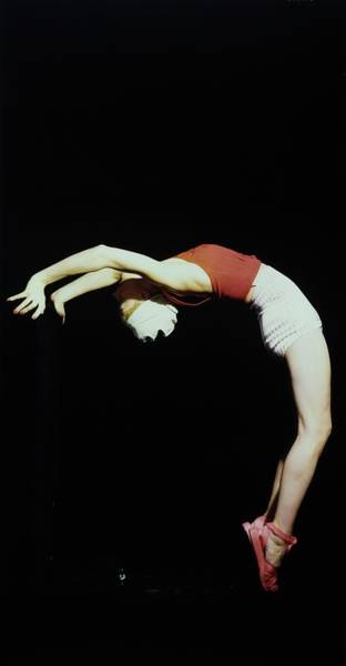 Photograph - Lisa Fonssagrives Wearing Brigance Bending by Horst P. Horst