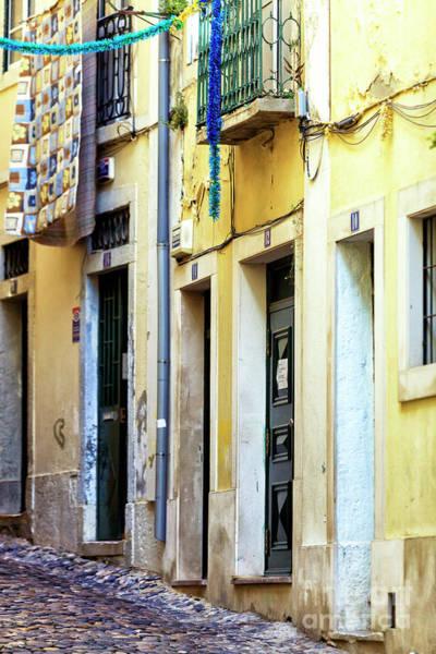 Wall Art - Photograph - Lisbon Alley Doors by John Rizzuto