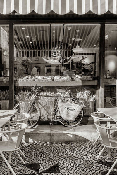 Photograph - Lisbon Bakery In Sepia by Georgia Fowler