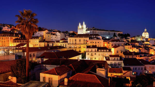Photograph - Lisbon City Of Hills by Michael Blanchette