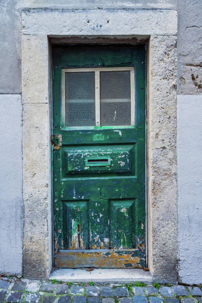Photograph - Lisbon Door #1 by Michael Blanchette