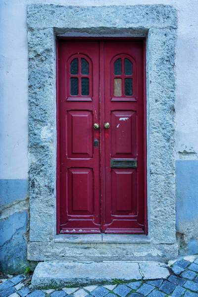 Photograph - Lisbon Door #2 by Michael Blanchette
