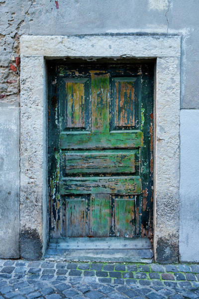 Photograph - Lisbon Door #4 by Michael Blanchette