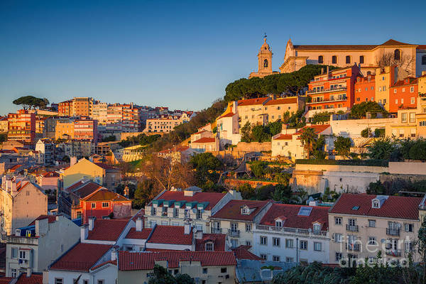 Exterior Wall Art - Photograph - Lisbon. Image Of Lisbon, Portugal by Rudy Balasko