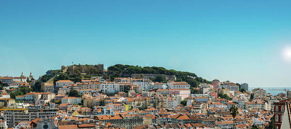 Photograph - Lisbon, Portugal Panorama by Alexandre Rotenberg