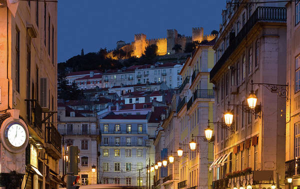 Lisbon Castle Photograph - Lisbon, Portugal by Szaffy