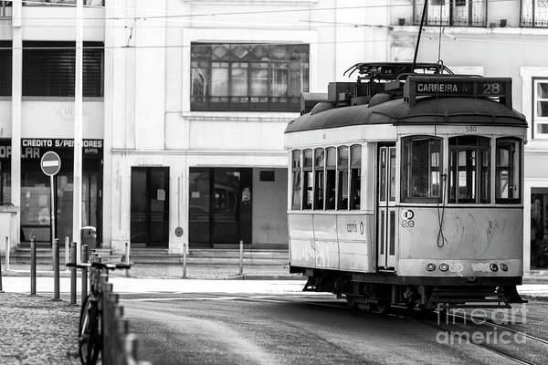 Photograph - Lisbon Trolley by John Rizzuto