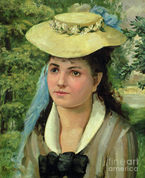 Wall Art - Painting - Lise by Pierre Auguste  Renoir