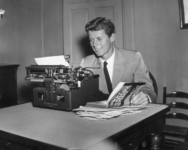 Us President Photograph - Literary Jfk by Hulton Archive