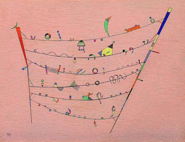 Wassily Kandinsky Painting - Little Accents, 1940 by Wassily Kandinsky