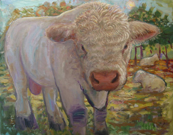 Painting - Little Big Bull by Paul Emory