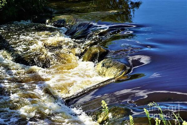 Photograph - Little Bitty Waterfall by Merle Grenz