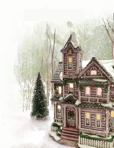 Digital Art - Little Christmas by Gina Harrison