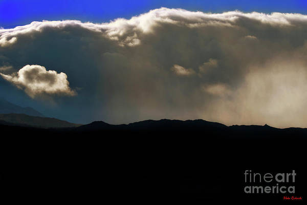 Photograph - Little Cloud Moving In by Blake Richards