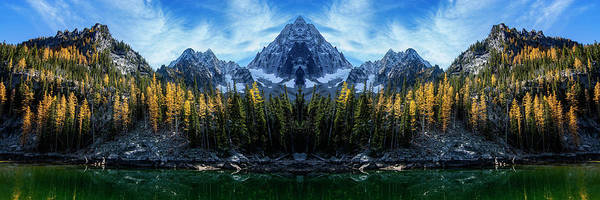 Wall Art - Photograph - Little Colchuck Lake Reflection by Pelo Blanco Photo
