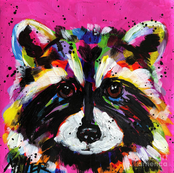 Wall Art - Painting - Little Critter by Tracy Miller
