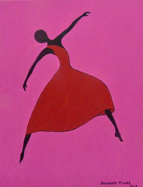 Wall Art - Painting - Little Dancer No 9 by Stephanie Moore