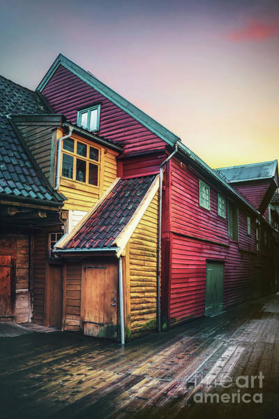 Wall Art - Photograph - Little Dash Of Bergen by Evelina Kremsdorf