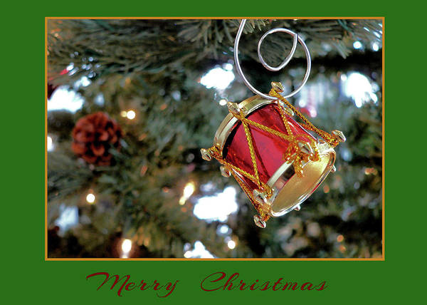 Photograph - Little Drum Ornament by Kathy K McClellan