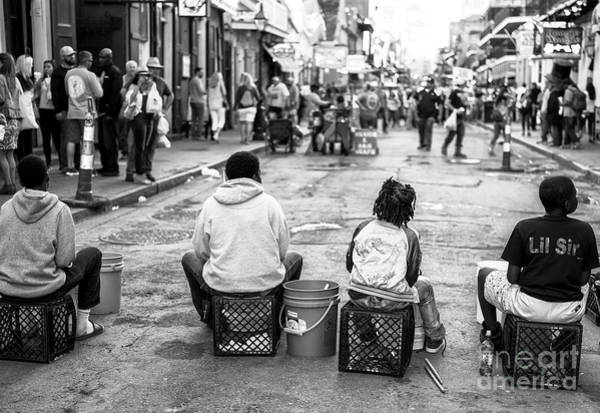 Photograph - Little Drummers On Bourbon Street New Orleans by John Rizzuto