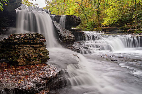 Photograph - Little Falls In The Fall by Jack Peterson