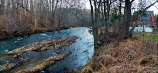 Kingsville Photograph - Little Gunpowder Falls And Mill by Brian Wallace