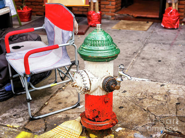 Wall Art - Photograph - Little Italy Fire Hydrant New York City by John Rizzuto
