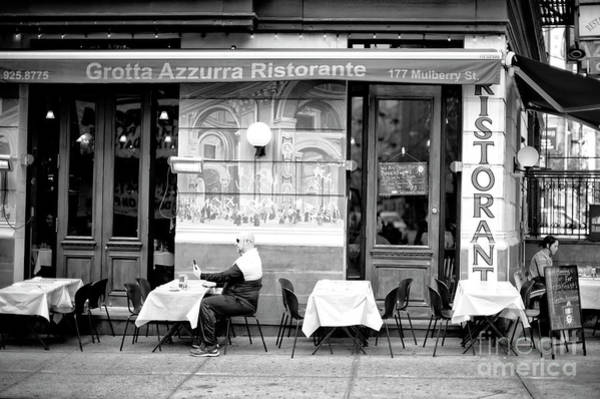 Photograph - Little Italy Selfie In New York City by John Rizzuto