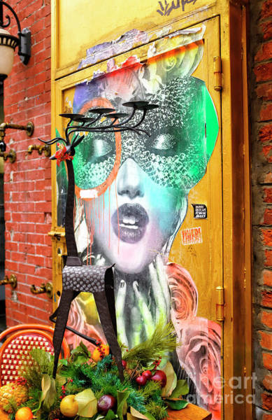 Photograph - Little Italy Street Art In New York City by John Rizzuto