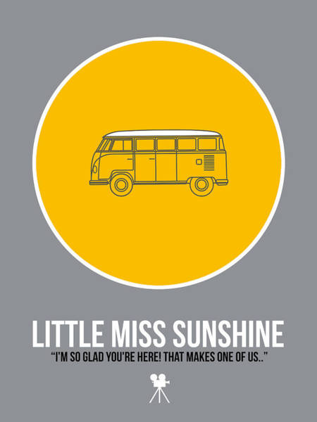 Wall Art - Digital Art - Little Miss Sunshine by Naxart Studio