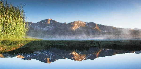 Silverton Photograph - Little Molas Lake In The Morning Upside by Daniel Cummins