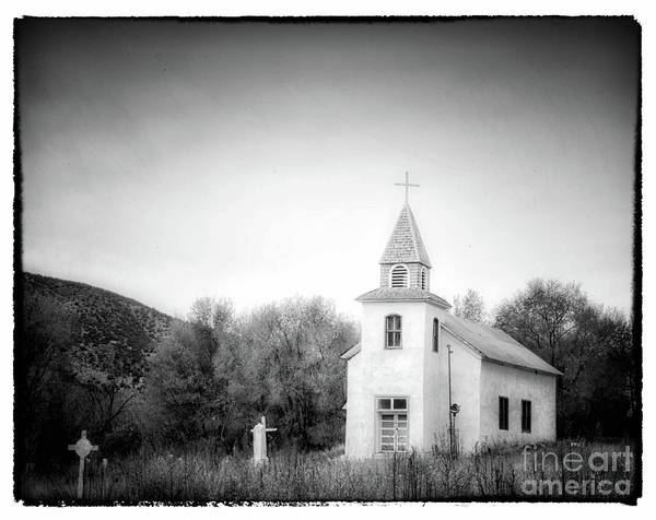 Photograph - Little Mountain Church by Natural Abstract Photography