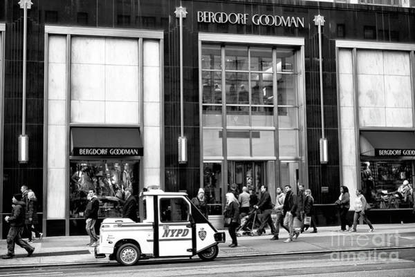 Wall Art - Photograph - Little Nypd Car On 5th Avenue by John Rizzuto