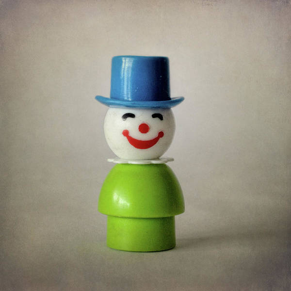 Wall Art - Photograph - Little People With Blue Top Hat by David and Carol Kelly