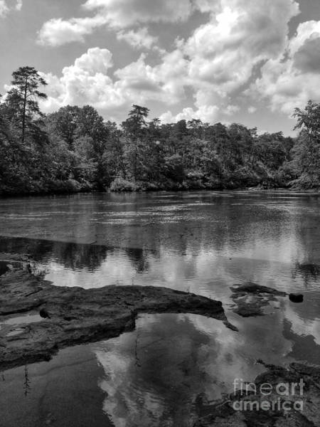 Photograph - Little River Canyon Bw  by Rachel Hannah