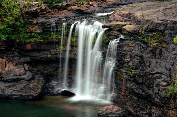 Wall Art - Photograph - Little River Canyon Waterfall - Alabama by Daniel Hagerman