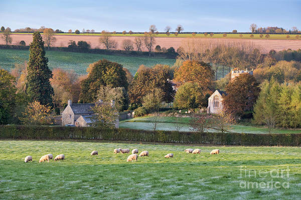 Photograph - Little Rollright On A Frosty Autumn Morning by Tim Gainey