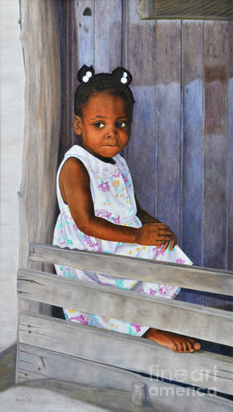 Painting - Little Rose by Nicole Minnis