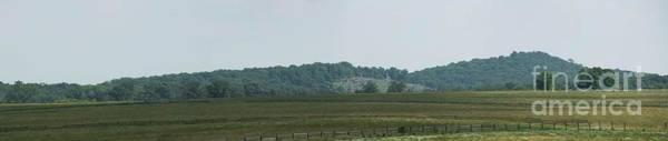 Cemetery Ridge Photograph - Little Round Top From Seminary Ridge by David Bearden