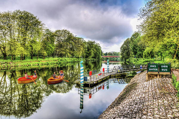 Photograph - Little Rowers At Bute Park by Steve Purnell