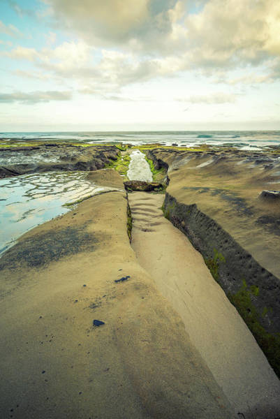 Photograph - Little Trail To The Sea by Joseph S Giacalone