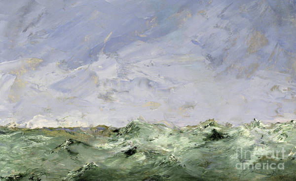 Baltic Sea Painting - Little Water, Dalaro, 1892  by August Johan Strindberg