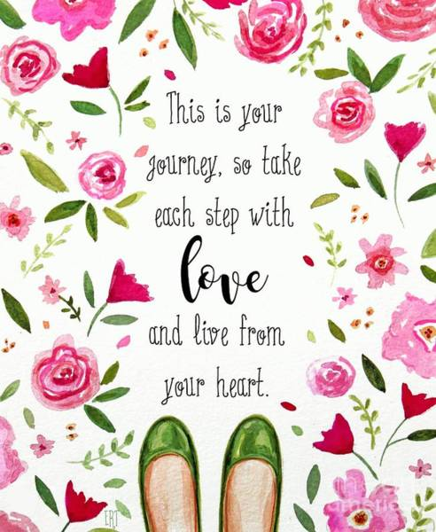 Painting - Live From Your Heart by Elizabeth Robinette Tyndall