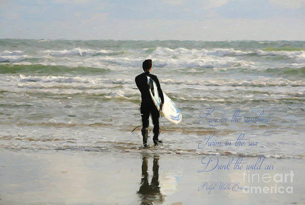 Photograph - Live In The Sunshine by Darrel Giesbrecht