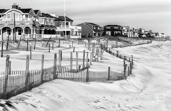 Down The Shore Photograph - Living Behind The Dunes At Long Beach Island by John Rizzuto