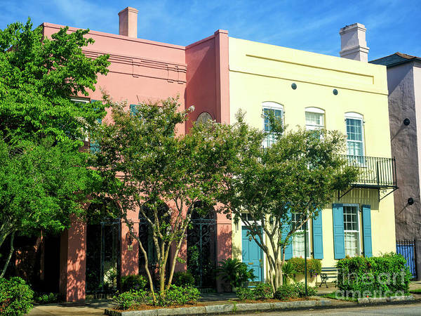Photograph - Living On East Bay Street In Charleston by John Rizzuto